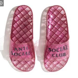🎉HOST PICK! Anti Social Social Club Glitter Slide